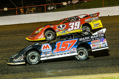 Mike Marlar (157) and Tim McCreadie (39)