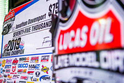 Lucas Oil Late Model Dirt Series awards