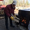 DOUG FEEDS THE FIRE CONSTANTLY...EVERY 30 MINUTES OR SO!!