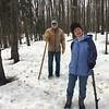 PAM AND DARREL ON OUR WALK THRU DICK JOHANSEN'S TRAILS