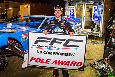 PFC Brakes Pole Award winner Josh Richards
