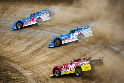 Brandon Sheppard (1), Josh Richards (14) and Tim McCreadie (39)