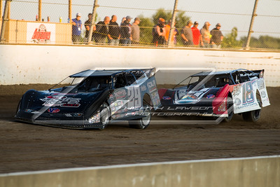 Darrell Lanigan (29) and Shannon Babb (18)