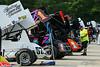 COMP Cams Sprint Car World Championship - Mansfield Motor Speedway - 1Z Logan Wagner, 1 Sammy Swindell