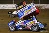 COMP Cams Sprint Car World Championship - Mansfield Motor Speedway - 5x Justin Peck, 16 DJ Foos