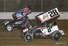 COMP Cams Sprint Car World Championship - Mansfield Motor Speedway - 1Z Logan Wagner, 28 Danny Mumaw