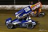 COMP Cams Sprint Car World Championship - Mansfield Motor Speedway - 26 Cory Eliason, 49X Tim Shaffer