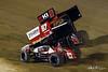 COMP Cams Sprint Car World Championship - Mansfield Motor Speedway - 87 Aaron Reutzel, 2M Kerry Madsen