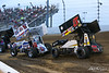 COMP Cams Sprint Car World Championship - Mansfield Motor Speedway - 8M TJ Michael, 5x Justin Peck