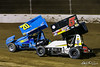 COMP Cams Sprint Car World Championship - Mansfield Motor Speedway - 70X Spencer Bayston, 5x Justin Peck