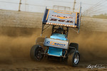 dirt track racing image - COMP Cams Sprint Car World Championship - Mansfield Motor Speedway - 69K Lance Dewease