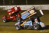 COMP Cams Sprint Car World Championship - Mansfield Motor Speedway - 9 Dean Jacobs, 69K Lance Dewease