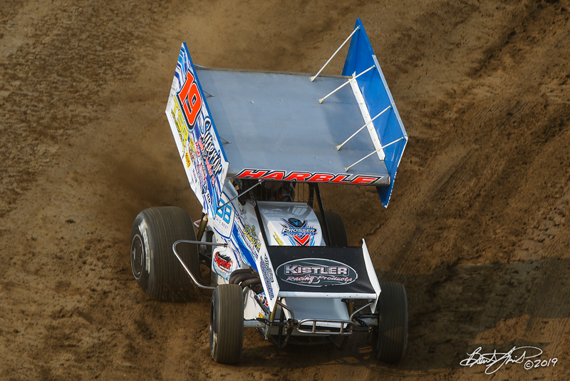 COMP Cams Sprint Car World Championship - Mansfield Motor Speedway - 19 Mitch Harble