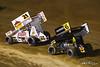 COMP Cams Sprint Car World Championship - Mansfield Motor Speedway - 21 Brian Brown, 6 Joey Saldana