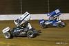 COMP Cams Sprint Car World Championship - Mansfield Motor Speedway - 99 Skylar Gee, 26 Cory Eliason