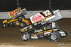 COMP Cams Sprint Car World Championship - Mansfield Motor Speedway - 97 Caleb Helms, 72 Ryan Smith