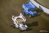 COMP Cams Sprint Car World Championship - Mansfield Motor Speedway - 21 Brian Brown, 70 Brock Zearfoss