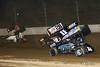 COMP Cams Sprint Car World Championship - Mansfield Motor Speedway - 5x Justin Peck, 28 Danny Mumaw, 11N Buddy Kofoid