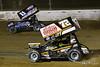COMP Cams Sprint Car World Championship - Mansfield Motor Speedway - 11N Buddy Kofoid, 72 Ryan Smith