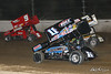COMP Cams Sprint Car World Championship - Mansfield Motor Speedway - 11N Buddy Kofoid, 9 Dean Jacobs