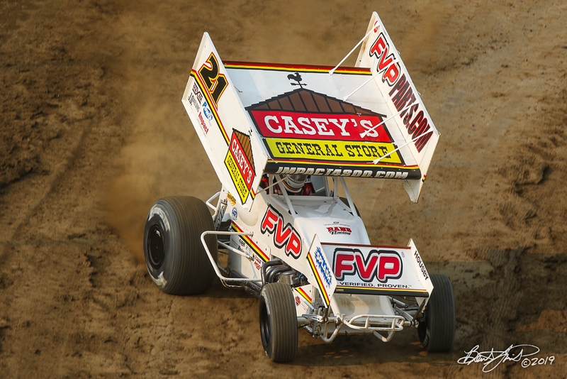 COMP Cams Sprint Car World Championship - Mansfield Motor Speedway - 21 Brian Brown