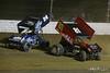COMP Cams Sprint Car World Championship - Mansfield Motor Speedway - 24 Rico Abreu, 81 Lee Jacobs