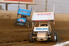 COMP Cams Sprint Car World Championship - Mansfield Motor Speedway - 98H Dave Blaney, 70 Brock Zearfoss