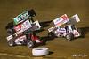COMP Cams Sprint Car World Championship - Mansfield Motor Speedway - W20 Greg Wilson, 71 Giovanni Scelzi, 98H Dave Blaney