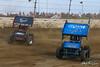COMP Cams Sprint Car World Championship - Mansfield Motor Speedway - 33D Tyler Dunn, 20i Kelsey Ivy
