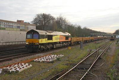 66847 Basingstoke 27/03/19 7Y44 Hoo Junction to Eastleigh