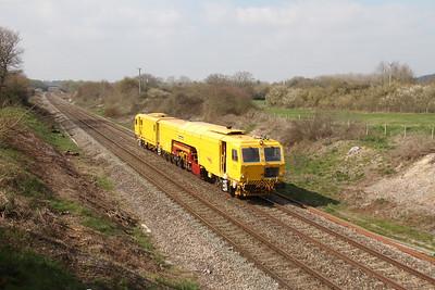 DR73121 Newbury 28/03/19 6Q54 Severn Tunnel Junction to Paddock Wood Keylands Sidings