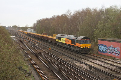 66847 Worting Junction 27/03/19 6Y48 Eastleigh to Hoo Junction