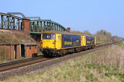 73109 Battledown 29/03/19 0Y68 Tonbridge to Eastleigh with 73128