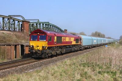 66140 Battledown 29/03/19 4O39 Morris Cowley to Southampton Eastern Docks