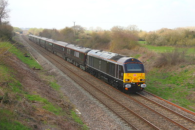 67005 Newbury 28/03/19 1Z90 Castle Cary to Wolverton