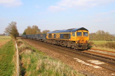 66704 Weston 28/03/19 4Y19 Mountfield to Southampton Western Docks