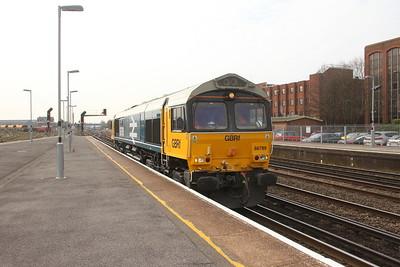 66789 Eastleigh 28/03/19 0Y69 Eastleigh T&RSMD to Eastleigh East Yard