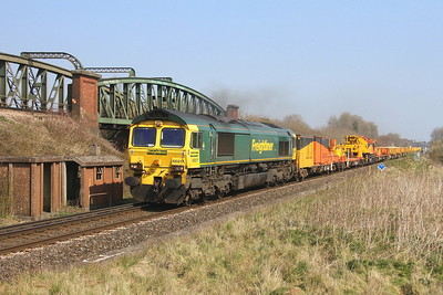 66517 Battledown 29/03/19 6O26 Hinksey to Eastleigh