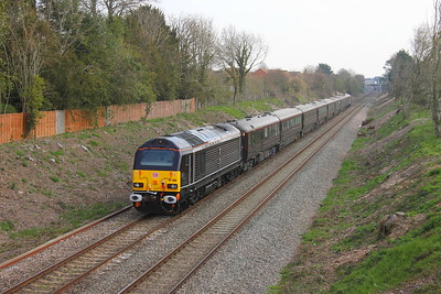 67006 Newbury 28/03/19 1Z90 Castle Cary to Wolverton