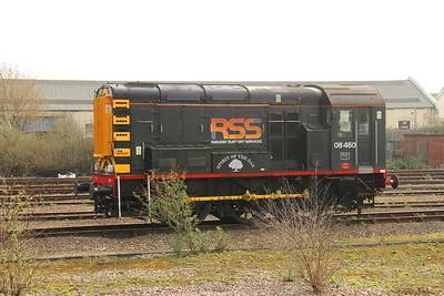 08460 Eastleigh 28/03/19 newly arrived to take up shunting duties from next week as GBRf take over Eastleigh Yard