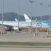 SkyTeam liveried Korean Air Airbus A330 HL8212 at Seoul Incheon Airport, 09.05.2019.