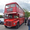 The Vintage Bus Company Park Royal AEC Routemaster JJD508D RML2508  at the Buckinghamshire Railway Centre bus rally, 27.05.2019.
