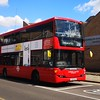 RATP London United Scania Omnicity DD YT09BJU SP40055 in Hounslow on the 281 to Tolworth, 21.05.2019.