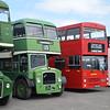 Lincolnshire Roadcar ECW Bristol Lodekka OVL473 Buckinghamshire Railway Centre bus rally, 27.05.2019.