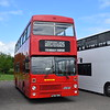 MCW Metrobus A714THV M1014 at the Buckinghamshire Railway Centre bus rally, 27.05.2019.