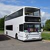 Motts Coaches Volvo ADL ALX400 X800MTT (ex Dublin Bus AV129) at the Buckinghamshire Railway Centre bus rally, 27.05.2019.