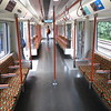 Brand new London Overground Class 710 Aventra no. 710269 interior at Gospel Oak on a Barking service, 28.05.2019.