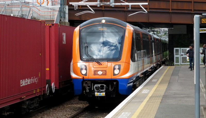 Brand new London Overground Class 710 Aventra no. 710269 arriving at Upper Holloway with a Gospel Oak service, 28.05.2019.