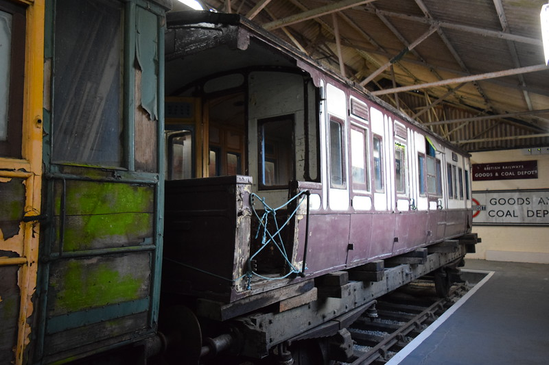 LNWR Inspection Saloon No. 2119 at the Buckinghamshire Railway Centre, 27.05.2019.