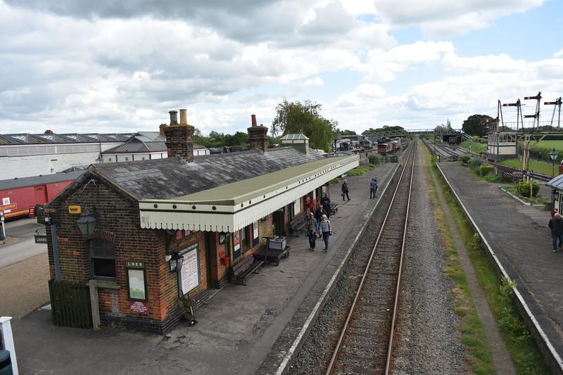 Quainton Road station, Buckinghamshire Railway Centre, 27.05.2019.